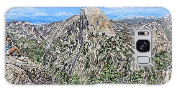 Springtime In Yosemite Valley Galaxy Case by Jane Girardot