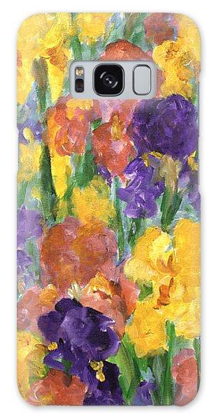 Springtime Iris Galaxy Case