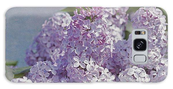 Springtime Lilacs Galaxy Case