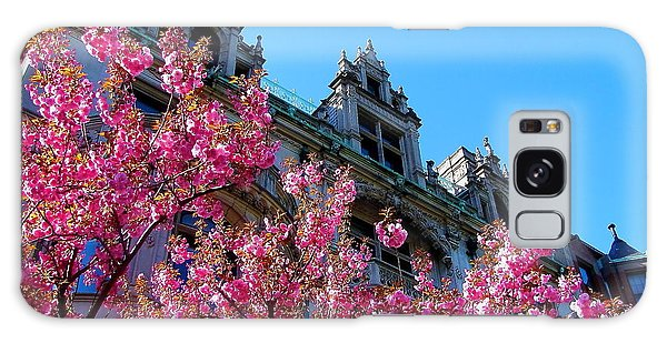 Springtime On Commonwealth Avenue Galaxy Case