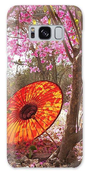 Springtime Umbrella Galaxy Case by Dennis Cox WorldViews