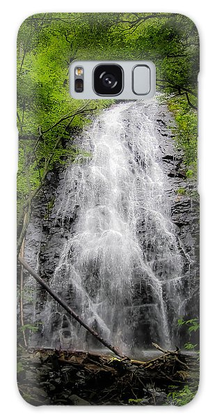 Springtime Waterfall Galaxy Case