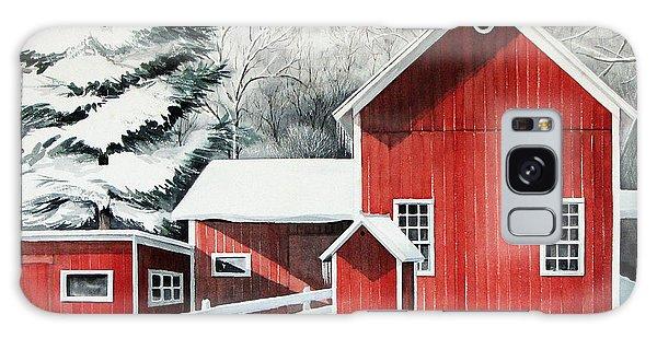 Springwater Barns Galaxy Case