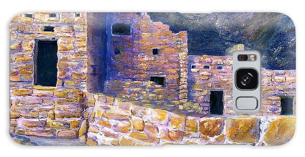 Spruce House At Mesa Verde In Colorado Galaxy Case by Lenora  De Lude