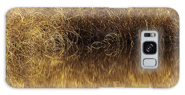 Spun Gold Galaxy Case by Annette Hugen
