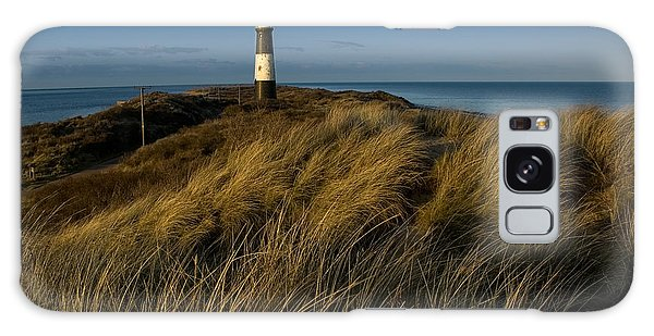Spurn Point Lighthouse Galaxy Case
