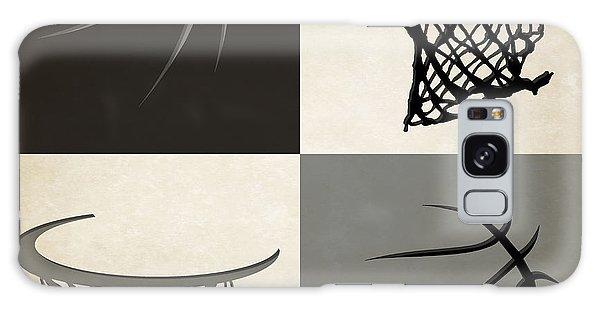 Sport Galaxy Case - Spurs Ball And Hoop by Joe Hamilton
