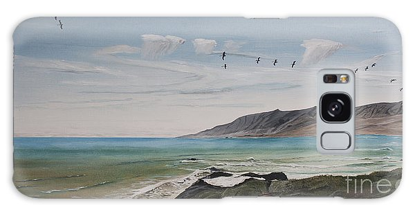 Squadron Of Pelicans Central Califonia Galaxy Case