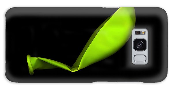 Square Lime Green Balloon Galaxy Case