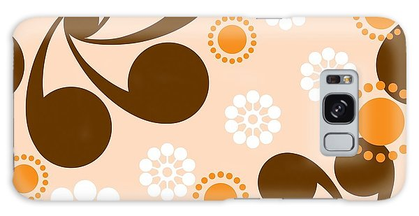Sixties Galaxy Case - Square Seamless Pattern With Geometric by Prokrida