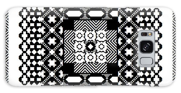 Square Spiral Galaxy Signed Galaxy Case