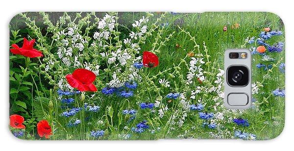 Squarely Spring Floral Garden Galaxy Case