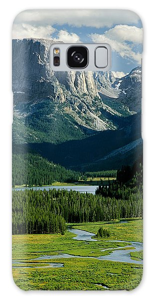 Squaretop Mountain 3 Galaxy Case