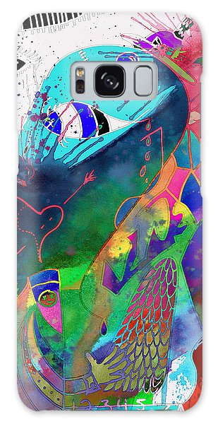Feather Stars Galaxy Case - Squash The Squabble  by The Artist Project