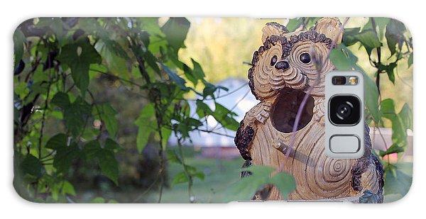Squirrel Bird Feeder Galaxy Case