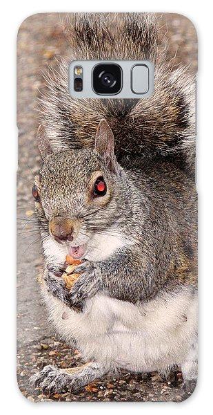 Squirrel Possessed Galaxy Case