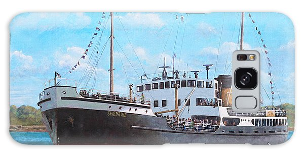 Ss Shieldhall On A Cruise In The Solent Galaxy Case