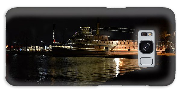 Ss Sicamous - Night Shot Galaxy Case by Guy Hoffman