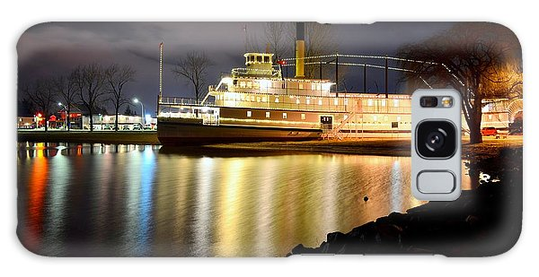 Ss Sicamous Steam Ship 1/21/2014  Galaxy Case by Guy Hoffman