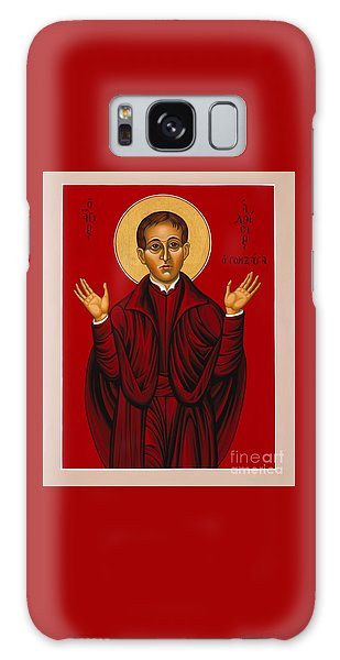 St. Aloysius In The Fire Of Prayer 020 Galaxy Case