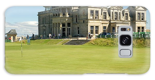 St Andrews Final Green And Clubhouse  Galaxy Case by Jeremy Voisey
