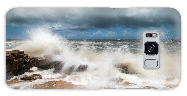 Flagler Galaxy Case - St. Augustine Fl Beach Seascape Crashing Waves by Dave Allen
