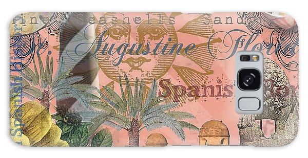 St. Augustine Florida Vintage Collage Galaxy Case