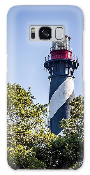 Galaxy Case featuring the photograph St. Augustine Lighthouse by Carolyn Marshall