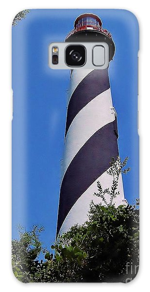 St Augustine Lighthouse Galaxy Case