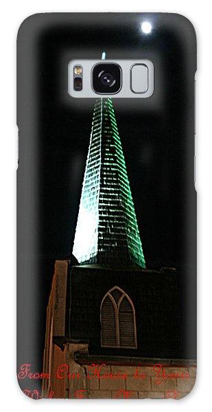 St. Augustine Moon Christmas Card Galaxy Case