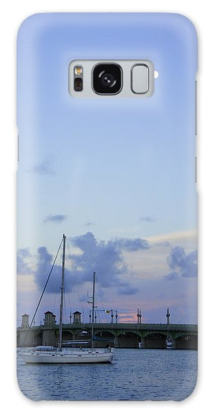 St. Augustine Sunset Galaxy Case by Laurie Perry