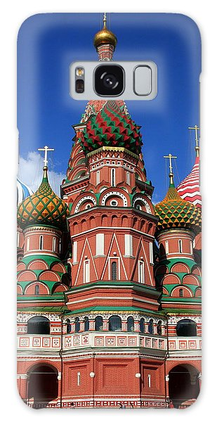 St. Basil's Cathedral Galaxy Case by Laurel Talabere