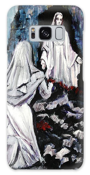 St. Bernadette At The Grotto Galaxy Case