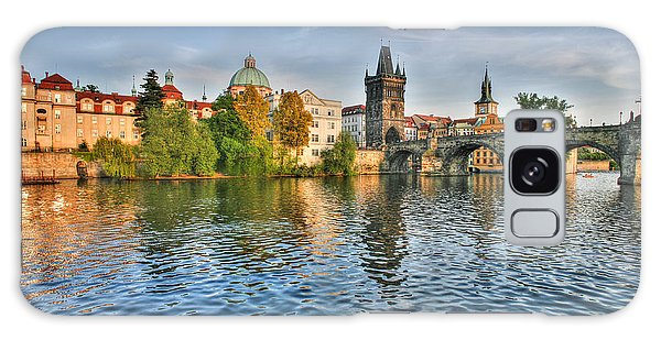 St Charles Bridge Prague Galaxy Case