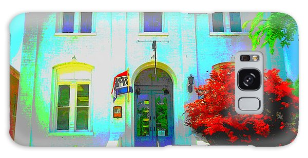 St. Charles County City Hall Painted Galaxy Case by Kelly Awad