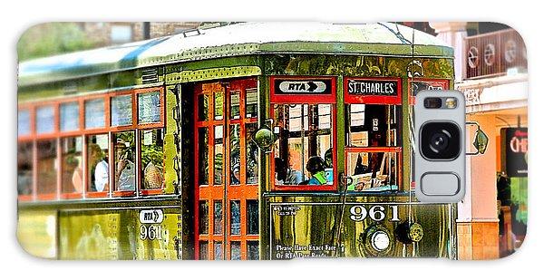 St. Charles Streetcar Galaxy Case by Jim Albritton