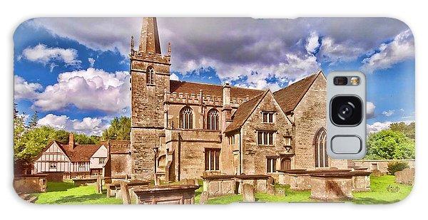 St Cyriac Church Lacock Galaxy Case