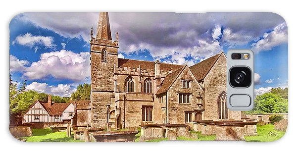 St Cyriac Church Lacock Galaxy Case