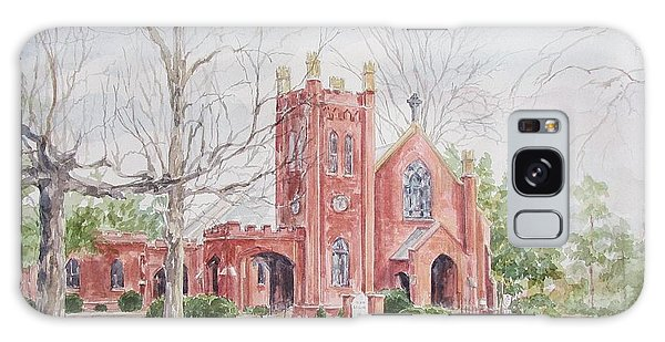 St. David's Episcopal Church Galaxy Case by Gloria Turner