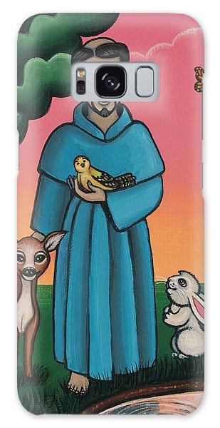 St. Francis Animal Saint Galaxy Case