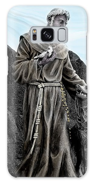 St Francis Of Assisi On Isabela In The Galapagos Galaxy Case