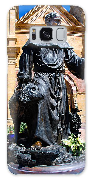 St Francis Of Assisi - Santa Fe Galaxy Case by Dany Lison