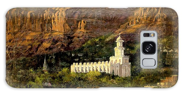 St. George Temple Red Hills Antique Galaxy Case