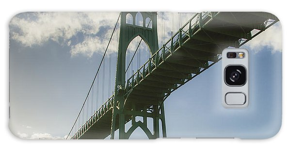 St Johns Bridge Galaxy Case