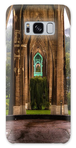St. Johns Bridge Galaxy Case