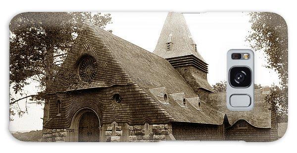 St. Johns Chapel Del Monte Monterey California 1895 Galaxy Case