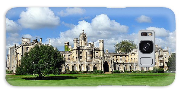 Galaxy Case featuring the photograph St. John's College Cambridge by Matthew Chapman