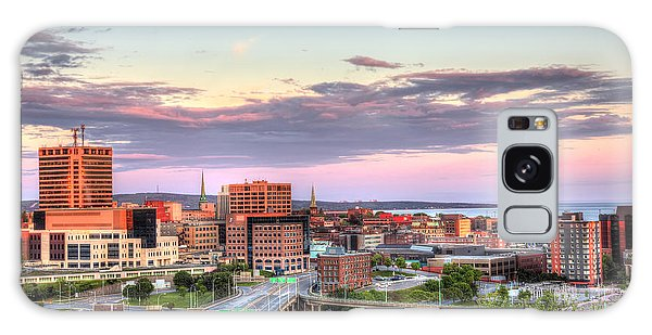 St. John's New Brunswick Sunset Skyline Galaxy Case