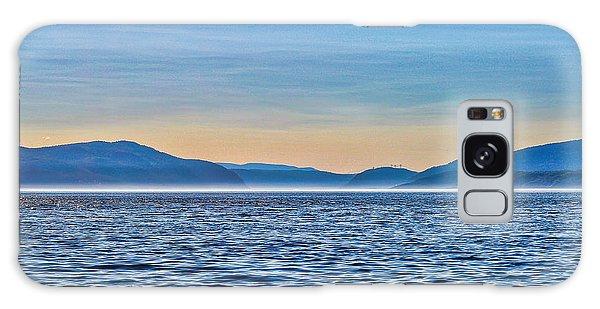 St. Lawrence Seaway Galaxy Case by Bianca Nadeau