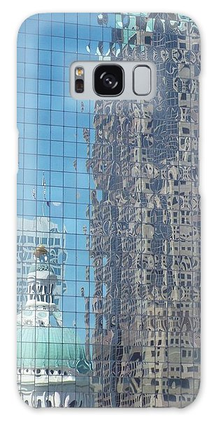 St. Louis Bldg Reflections Galaxy Case by Cindy Croal